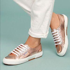 ⚡️FLASH SALE👟 Superga Rose Gold Sneakers